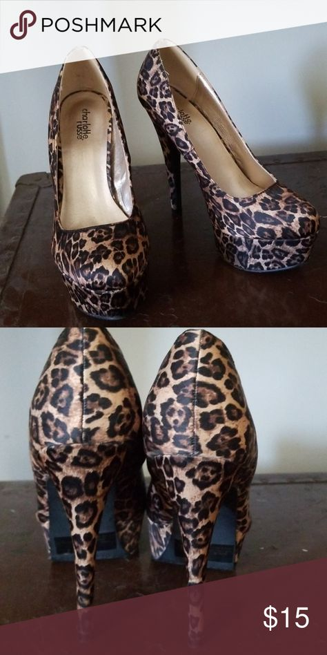 e8fc3ae25fe1 Leopard Print Pumps Leopard Pumps. 4 1/2 heel. Barely worn! Very  comfortable for the height just dont have enough occasions to justify  keeping them.