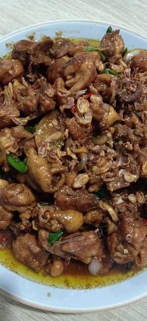 Ayam Kecap Mentega : kecap, mentega, Kecap, Tumis, Mentega, Resep, Makanan,, Masakan,
