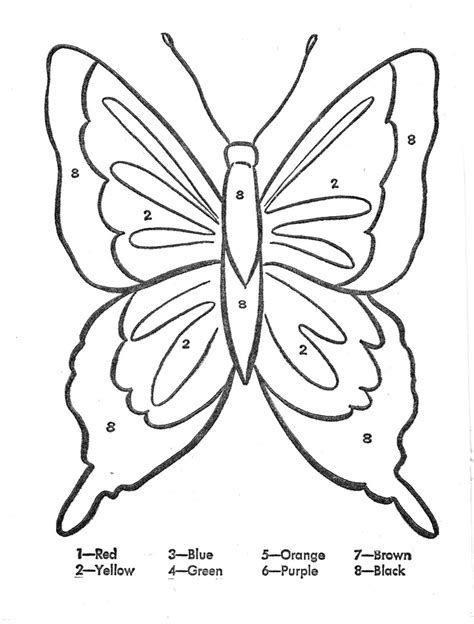 25 If You Are Looking For Butterfly Coloring Pages Color By Number You Ve Come To The Right Place We Have 26 Images About Butterfly Coloring Pages Color By N
