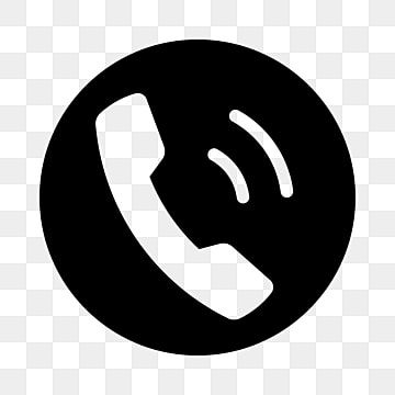 Phone Icon In Solid Circle Silhouette Touchscreen Display Png And Vector With Transparent Background For Free Download Phone Icon Church Icon Business Buttons