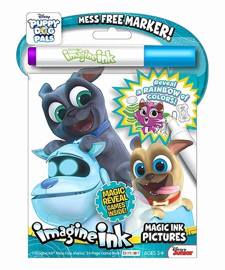 Magic Marker Coloring Book Lovely Bendon Publishing International Inc Puppy Dog Pals Imagine Ink Colo In 2020 Craft Activities For Kids Coloring Books Dogs And Puppies
