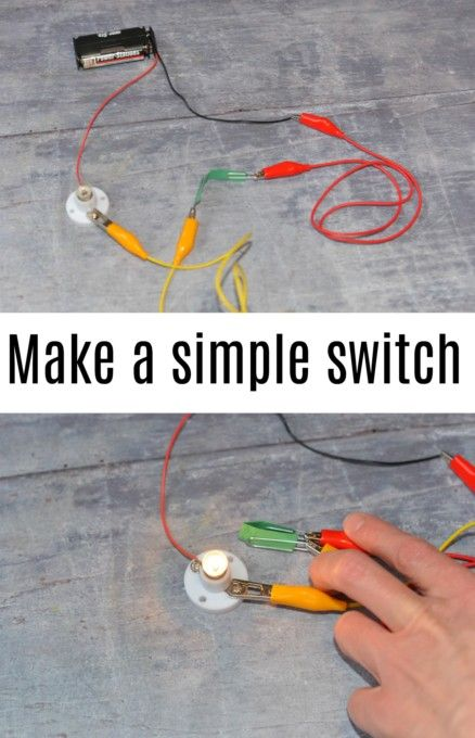 How to make a simple switch   Middle School Activities
