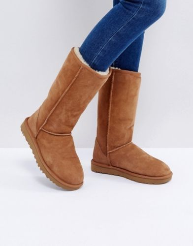 1605d1be751 Details about UGG Australia Women's Size 7 Tan Brown Classic Tall ...