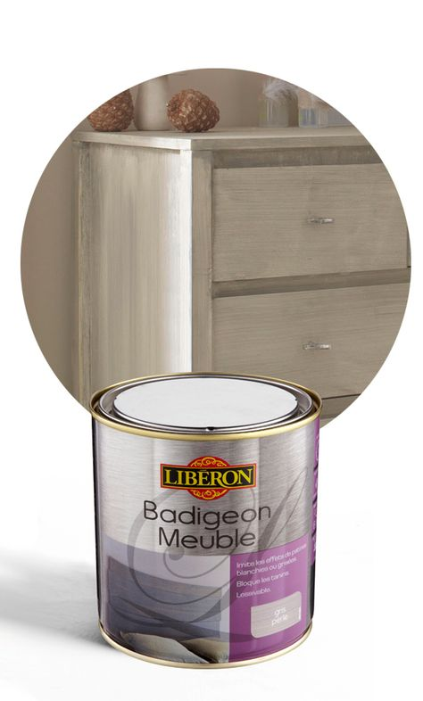 Badigeon Meuble Liberon Gris Perle Mat 0 5l Chambre Pour
