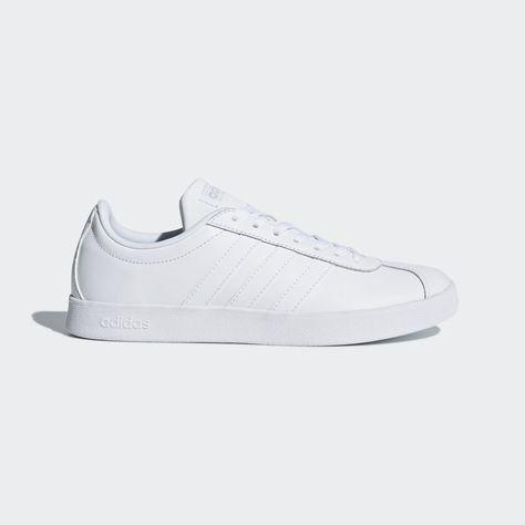adidas vl court 2.0 femme blanche