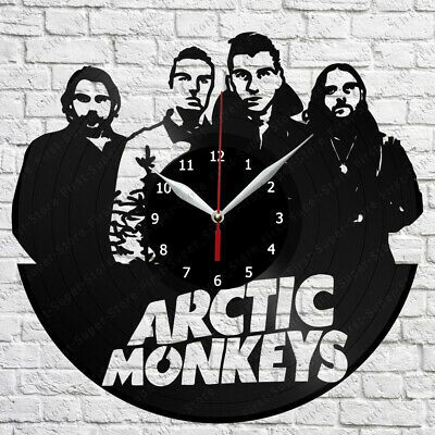 Arctic Monkeys Vinyl Record Wall Clock Home Fan Art Decor 12 30 Cm 5101 Arctic Monkeys Record Wall Vinyl Records
