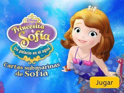 Cartas Submarinas De Sofía Juegos De Disney Juegos De Cartas Disney