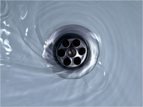 Unblock your drains without pouring harmful pollutants into the water system by pouring down 1 c of salt and 1/2 c of baking soda mixed together, followed by a kettle of boiling water. Can also use baking soda and white vinegar and boiling water.