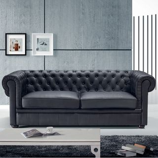 Couch design klassiker  Chesterfield Sofa aus Leder - Couch, Ecksofa & Sessel als Design ...
