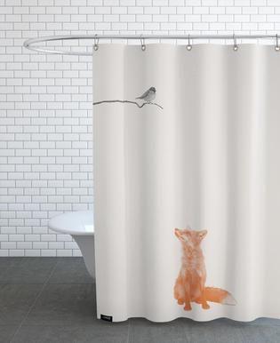 Bird And Fox Sarah Buhler Duschvorhang Juniqe