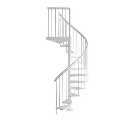 Escalier Helicoidal Metal Industria White O125 Cm 15 Marches Acier