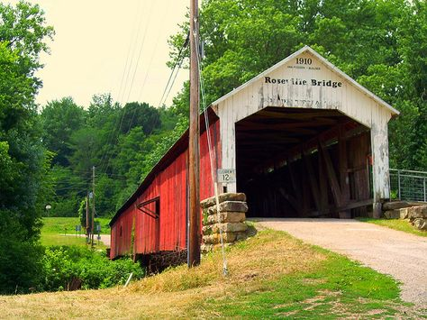 Covered bridges | Covered Bridge in Park County, Indiana | Flickr - Photo Sharing!