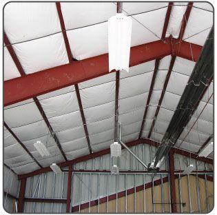 Retrofitting Insulation In Metal Building Roof Metal Buildings