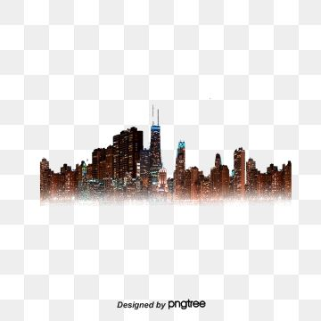 City Lights City House Night View Png Transparent Clipart Image And Psd File For Free Download City Lights Black White Posters Lighting Logo