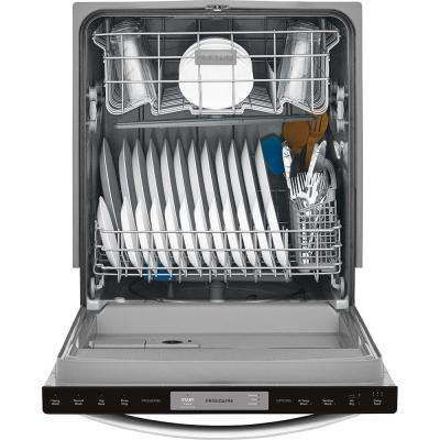 24 In Built In Tall Tub Top Control Dishwasher In Stainless