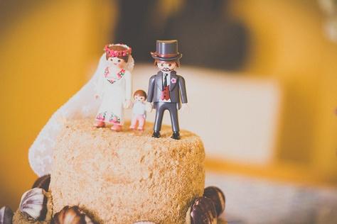 Coastal Cornish Wedding: Betty & Johnny  Playmobil