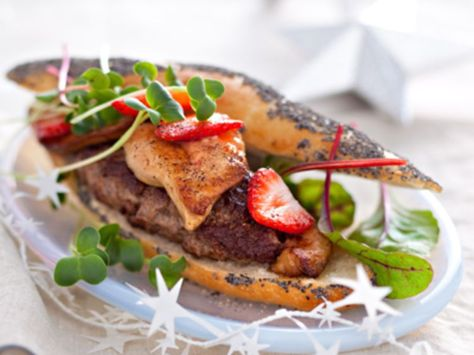 Hamburgers Rossini Recette Cuisine Repas Festifs Recette