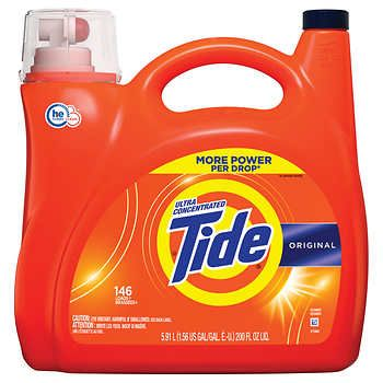 Tide Ultra Concentrated He Liquid Laundry Detergent 200 Fl Oz