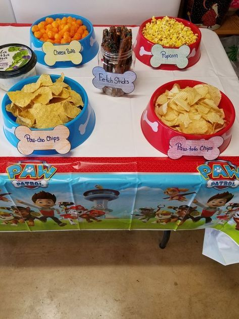 Dollar tree Paw Patrol Party – – Dollar tree Paw Patrol Party – – Related posts: 7 Awesome Paw Patrol Party Ideas for Your Kids' Birthday Fun 26 Ideas Diy Organization Bedroom Dollar Tree Life Harry Potter House Banners: We used … Puppy Birthday Parties, Puppy Party, Dog Parties, Birthday Ideas, 3rd Birthday Party For Boy, Paw Payrol Birthday, Birthday Activities, Paw Patrol Birthday Theme, Girl Paw Patrol Party