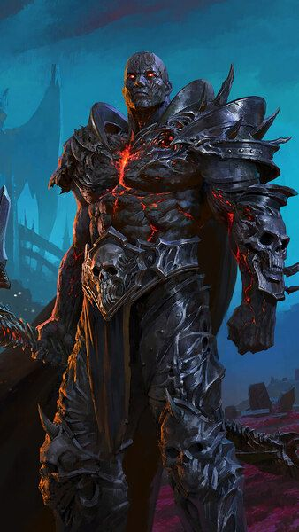 Wow Shadowlands Bolvar Fordragon Lich King 4k Hd Mobile Smartphone And Pc Desktop Laptop World Of Warcraft Wallpaper Lich King World Of Warcraft Characters