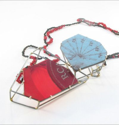 Sarah West Coney Island/RCA Necklace #2