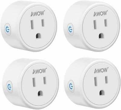 No Hub Required Alexa Compatible TP-Link Smart Plug Mini One Socket in White