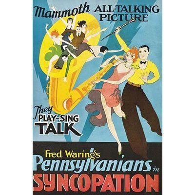 Buyenlarge 'Syncopation' Vintage Advertisement