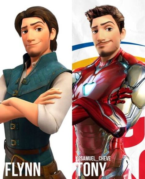 Artist Reimagines Disney Characters as The Avengers | Inside the Magic