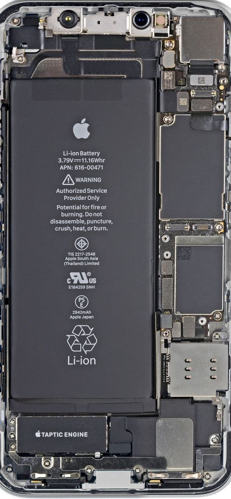 New Iphone Xr Teardown Wallpapers Are Here Papel De Parede Do