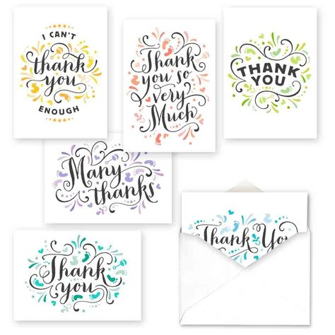 Pretty Baby Thank You Assortment Card Packs Color: Multi-Colored. Pretty Baby Thank You Assortment Card Packs Multi-Colored Bullet Journal Writing, Bullet Journal Ideas Pages, Bullet Journal Inspiration, Lettering Styles, Brush Lettering, Thank You Note Cards, Pin On, Pretty Baby, Your Cards