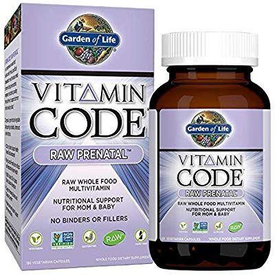 Amazon Com Garden Of Life Vitamin Code Raw Prenatal Vegetarian Multivitamin Supplement Vitamin Code Raw Prenatal Prenatal Multivitamin Garden Of Life Vitamins