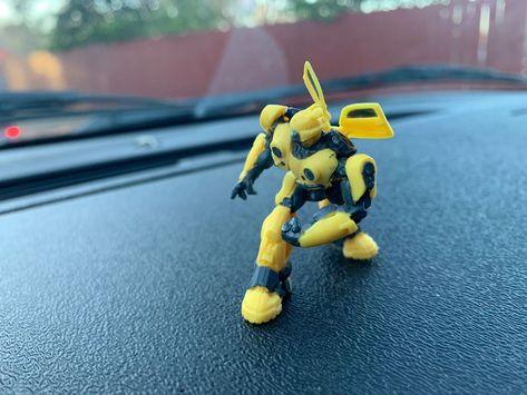 AMC BumbleBee Movie Exclusive Mini Collectible Transformers Bumblebee Figurine