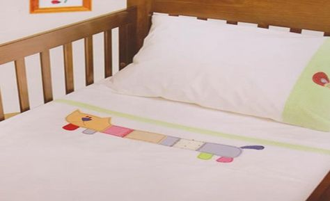 When Setting The Baby S Cot Best Sheets Should Be Placed Of Good Quality Used Dont Use That Have Designs On Them