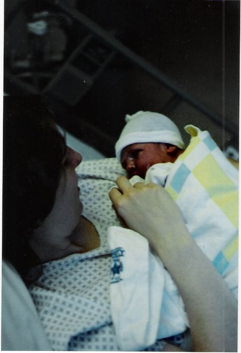 Holly, our 2nd daughter 24 years ago ♥