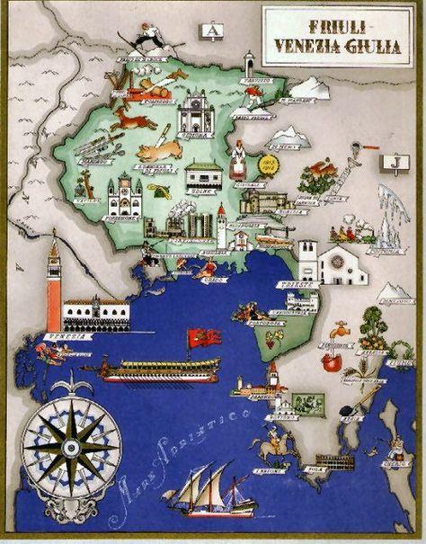Cartina Friuli Venezia Giulia.230 My Italy Friuli Beyond Ideas Italy Friuli Venezia Giulia Italy Travel