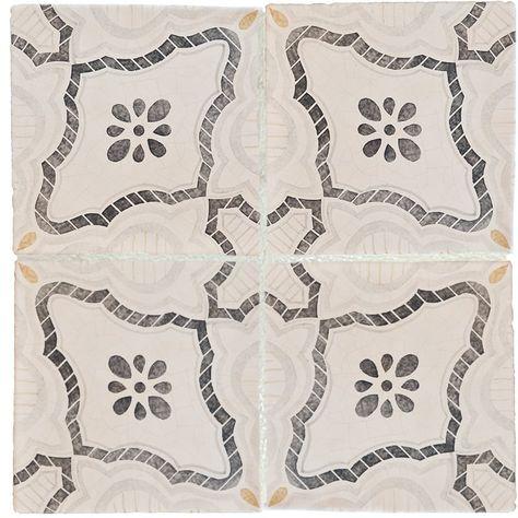 Palermo Classic Glazed Terracotta Decorative 8x8 Country Floors Of America Llc Classic Tile Terracotta Decor