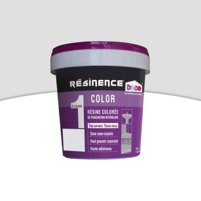 Resine Multisupports Resinence Color Lin Satin 0 25l En 2020 Blanc Casse Peinture Cuisine Et Resine