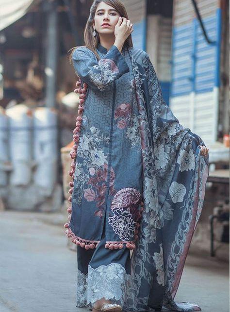 Cross Stitch Steel chantilly is part of Pakistani dresses -
