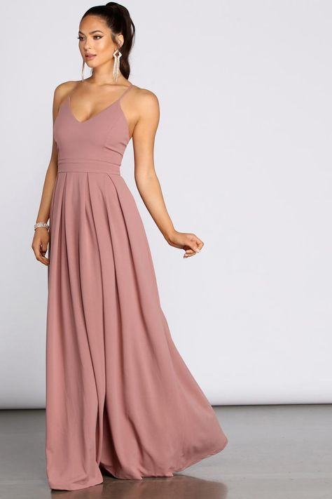 Light Pink Bridesmaid Dresses, Bridesmade Dresses, Bridesmaid Dress Styles, Pink Brides Maid Dresses, Inexpensive Bridesmaid Dresses, Pink Bridesmaids, Blush Pink Dresses, Bridesmaid Dresses Online, Dusty Rose Dress