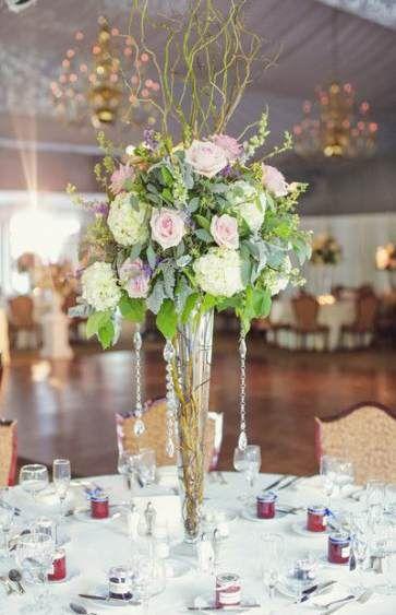 30+ Glass vase wedding centerpieces ideas