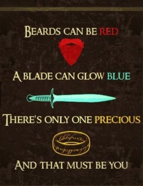 perfect lotr valentine's card  lotr lord of the rings