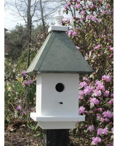 Woodenexpressionbirdhouses Manor 20 In X 10 In X 10 In Birdhouse Bird Houses Bird House Kits Bird House