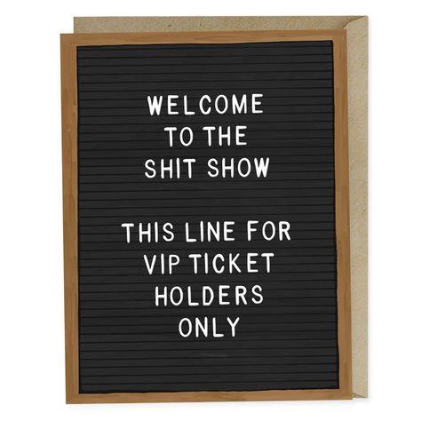 Shit Show Card