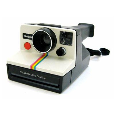 The camera.   Polaroid one step, Instant camera, Instant film camera