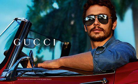 eba21cacc3 James-Franco-Gucci- | Them | Gafas gucci, gafas de sol Gucci y James ...