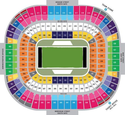 Carolina Panthers Seating Chart Seat Views Tickpick Carolina Panthers Bank Of America Stadium Carolina Panthers Tickets