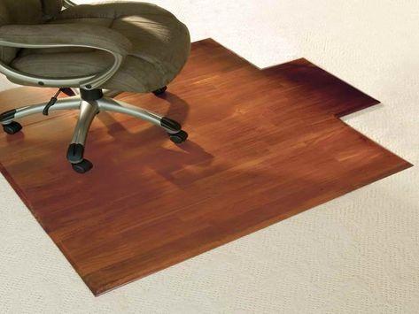 Hardwood Desk And Chair Mat Luxury