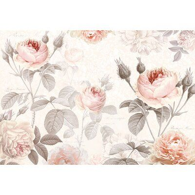 Ophelia Co Rheba 8 2 L X 145 2 W Wall Mural Floral Wallpaper Mural Wallpaper Wall Murals