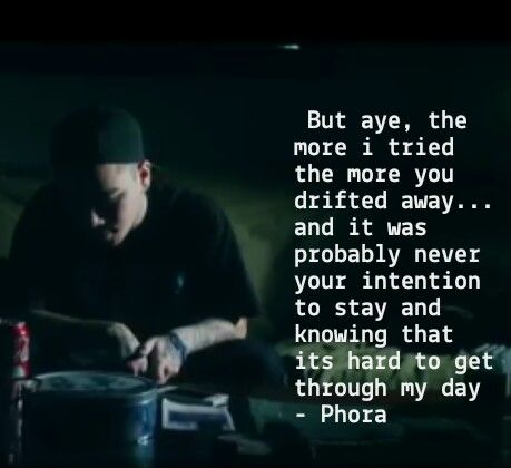 Phora   My Quotes   Rapper quotes, Rap song quotes, Lyric quotes