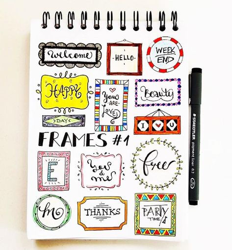 38 Creative Bullet Journal Headers You'll Want to Try for Yourself